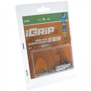 iGrip Skruvdubb (SS-R) 6 mm (för väldigt halt underlag)